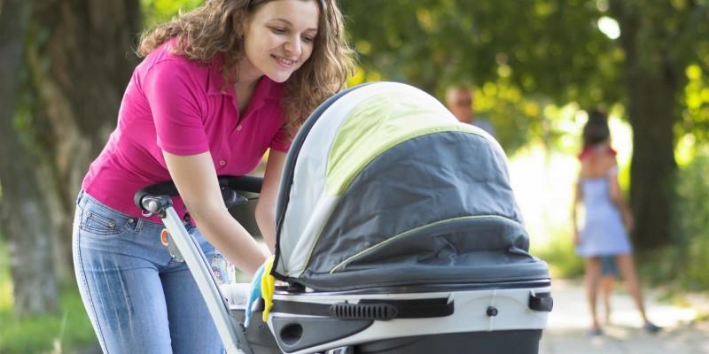 Kinderwagen fürs Baby