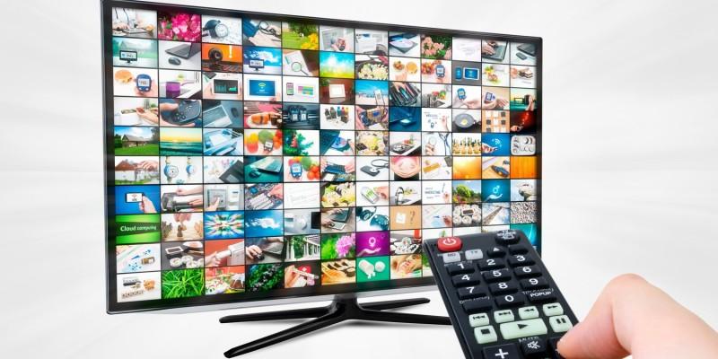 Grosse Fernseher zum Entspannen