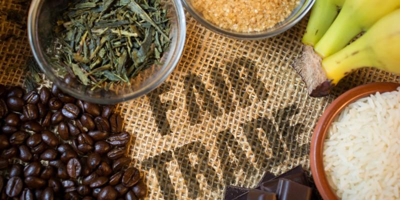 Produkte mit dem Fair-Trade Zeichen