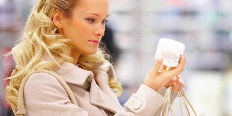 Kauf von Kosmetika